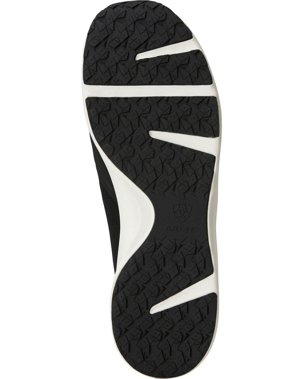 Ariat Men's Fuse Black Mesh Shoes, Black, hi-res