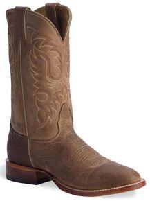 Nocona Men's Legacy Series Vintage Cowboy Boots - Round Toe, Tan, hi-res