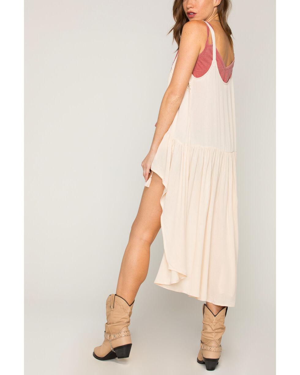 Shyanne Women's Tie-Front Fashion Vest, Ivory, hi-res
