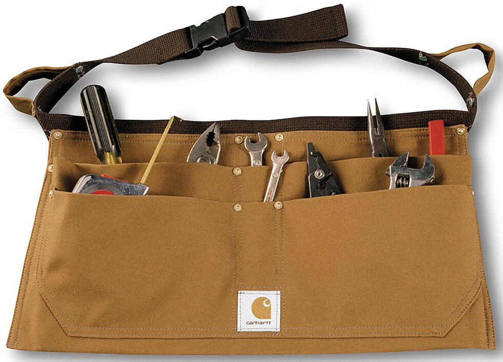 Carhartt Duck Nail Tool Belt, Carhartt Brown, hi-res