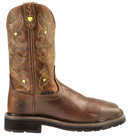 Justin Women's Pull-On Work Boots - Comp Toe, Rugged, hi-res