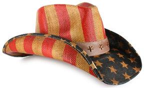 Cody James Justice American Flag Drifter Straw Cowboy Hat 98bd4ff6fde
