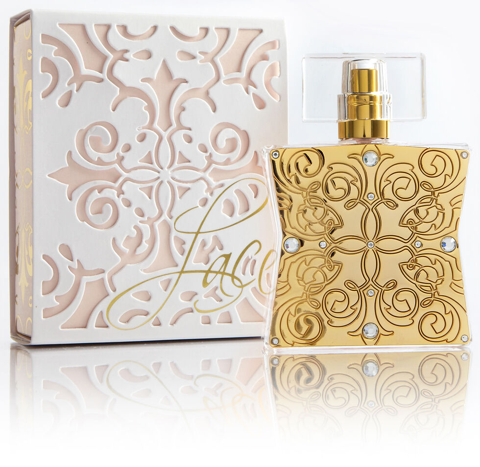 Tru Fragrances Lace Perfume, White, hi-res