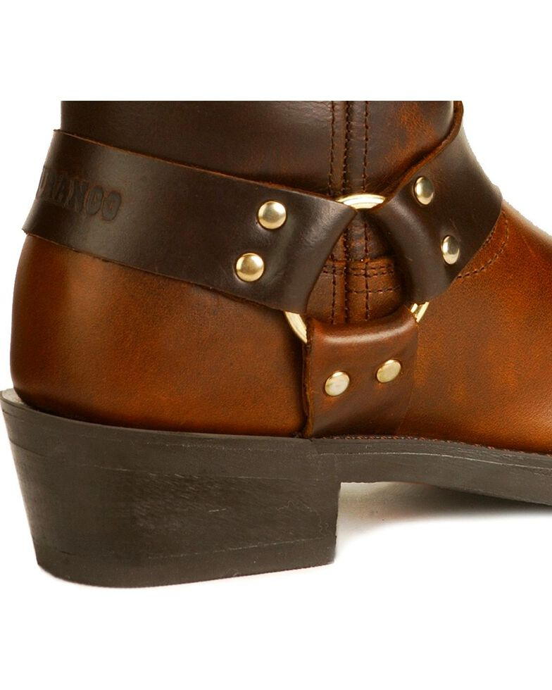 Durango Short Harness Boots, Brown, hi-res