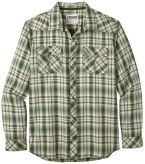 Mountain Khakis Men's Olive Plaid Rodeo Long Sleeve Shirt , Olive, hi-res