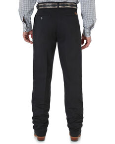 Wrangler Men's Riata Wrinkle Resist Dress Pants - Tall, Black, hi-res