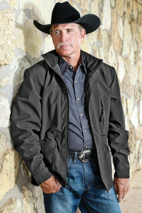STS Ranchwear Men's Brazos Jacket, Gunmetal, hi-res