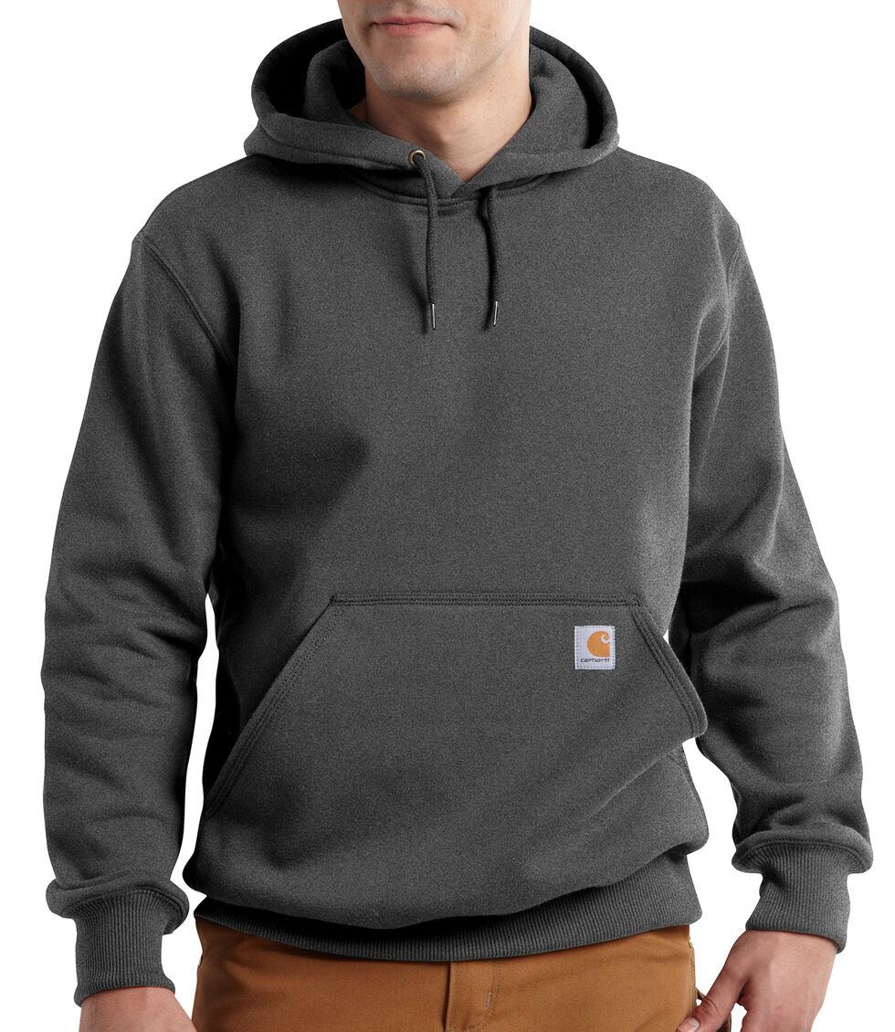 Carhartt Rain Defender Paxton Heavyweight Hooded Sweatshirt - Big & Tall, Dark Grey, hi-res