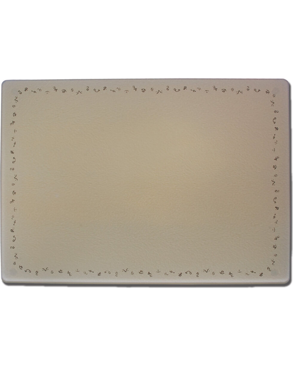 Moss Brothers Brands Glass Cutting Board , Tan, hi-res