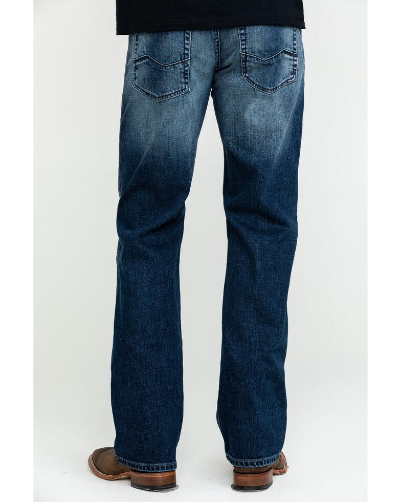 Ariat Men's M5 Cinder Low Stackable Slim Straight Jeans , Blue, hi-res