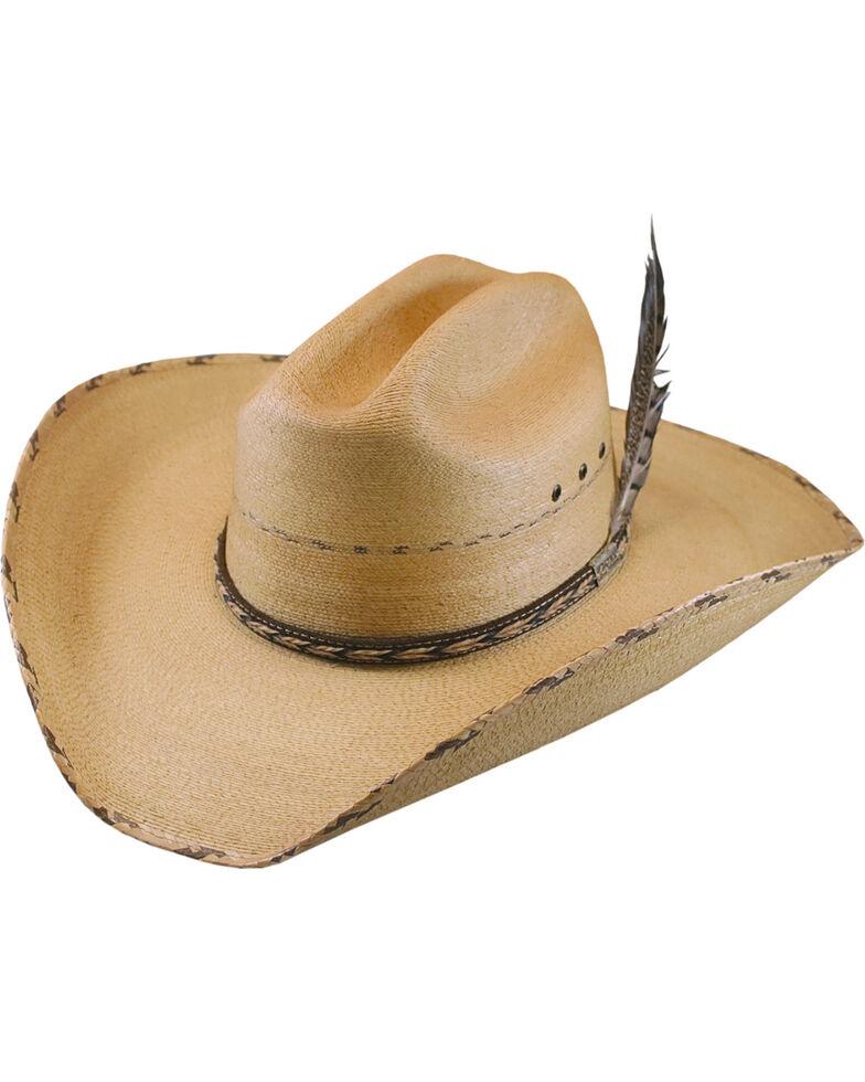 Larry Mahan Men s 30X Logan Palm Leaf Cowboy Hat  826b42fab69