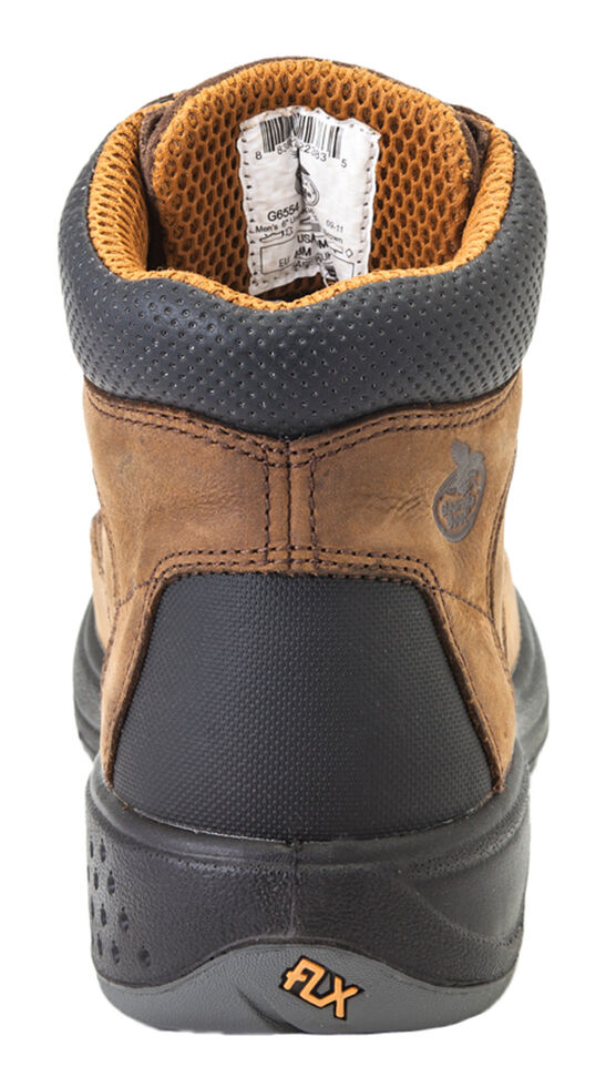 Georgia Flxpoint Waterproof Work Boots - Round Toe, Brown, hi-res
