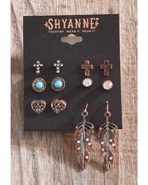 Shyanne Women's La Rosita Multi-Earring Set, Turquoise, hi-res