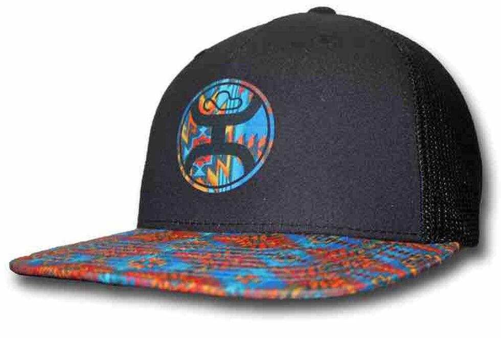 HOOey Men's Delirium Trucker Hat  , Black, hi-res