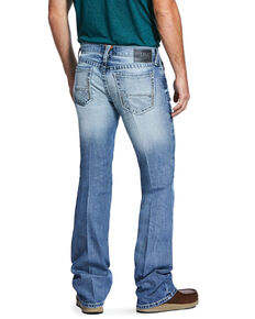 Ariat Men's M7 Rocker Shasta Light Stretch Slim Straight Jeans , Blue, hi-res