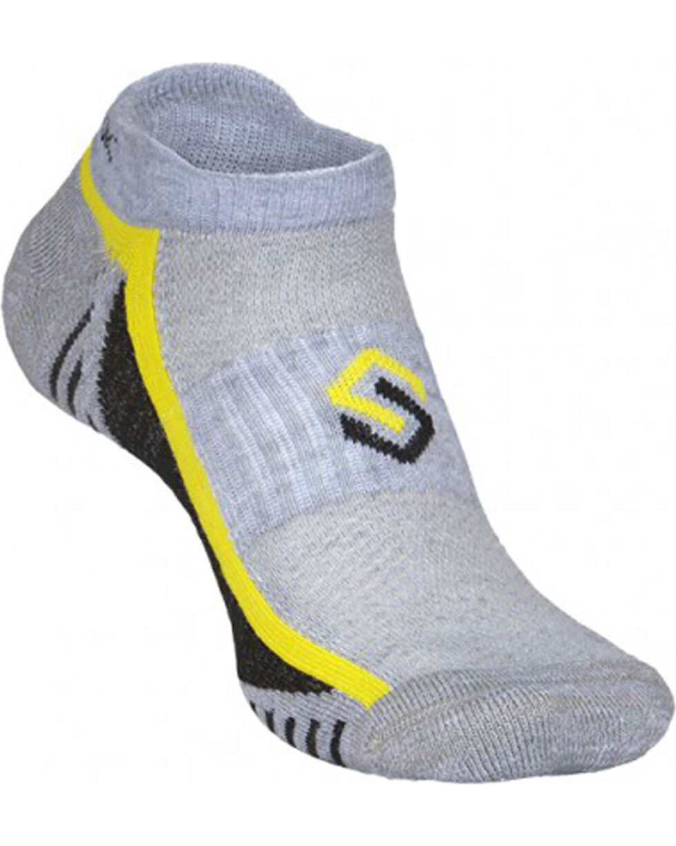 Scentlok Technologies Men's Grey Ultra Light Micro Socks, Grey, hi-res