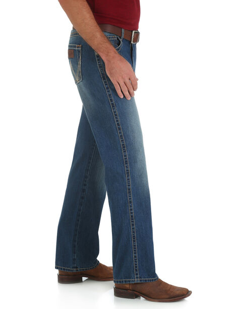 Wrangler Retro Bridgeport Bootcut Jeans - Relaxed Fit - Big and Tall, Denim, hi-res