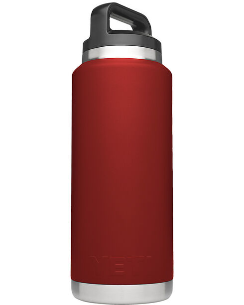 Yeti Brick Red 36oz Bottle Rambler , Red, hi-res