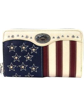 Montana West Women's American Pride Wallet , Beige/khaki, hi-res