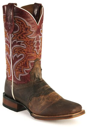 Dan Post Gel-Flex Cowgirl Certified Western Boots, Copper, hi-res