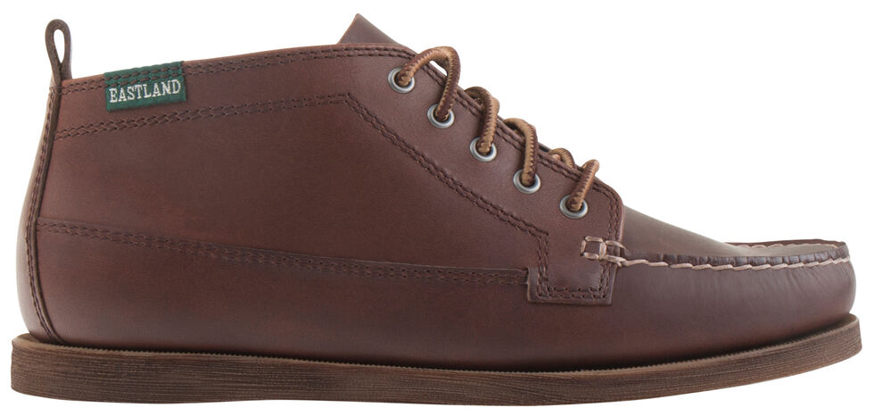 Eastland Women's Brown Seneca Camp Moc Chukka Boot, , hi-res