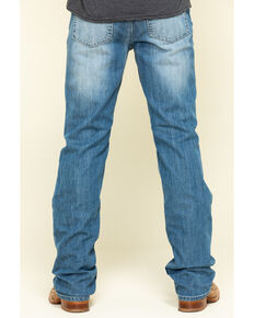 Cody James Men's Clovehitch Stackable Medium Wash Stretch Regular Straight Jeans , Blue, hi-res