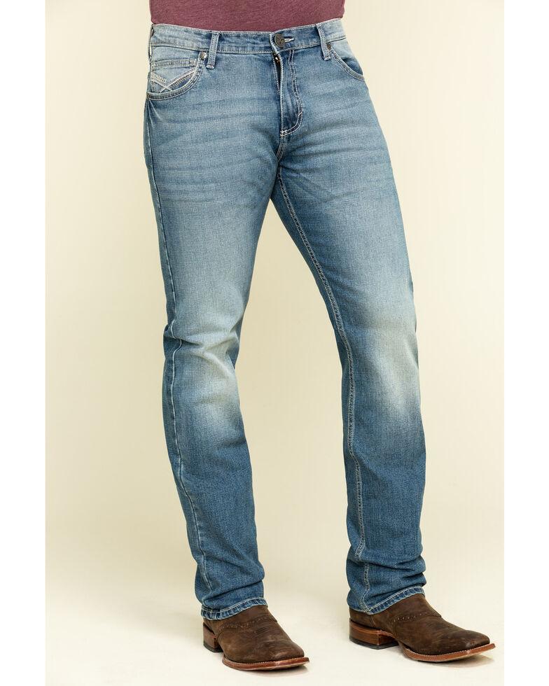 Wrangler 20X Men's No. 44 Fort Stockton Slim Straight Jeans , Blue, hi-res
