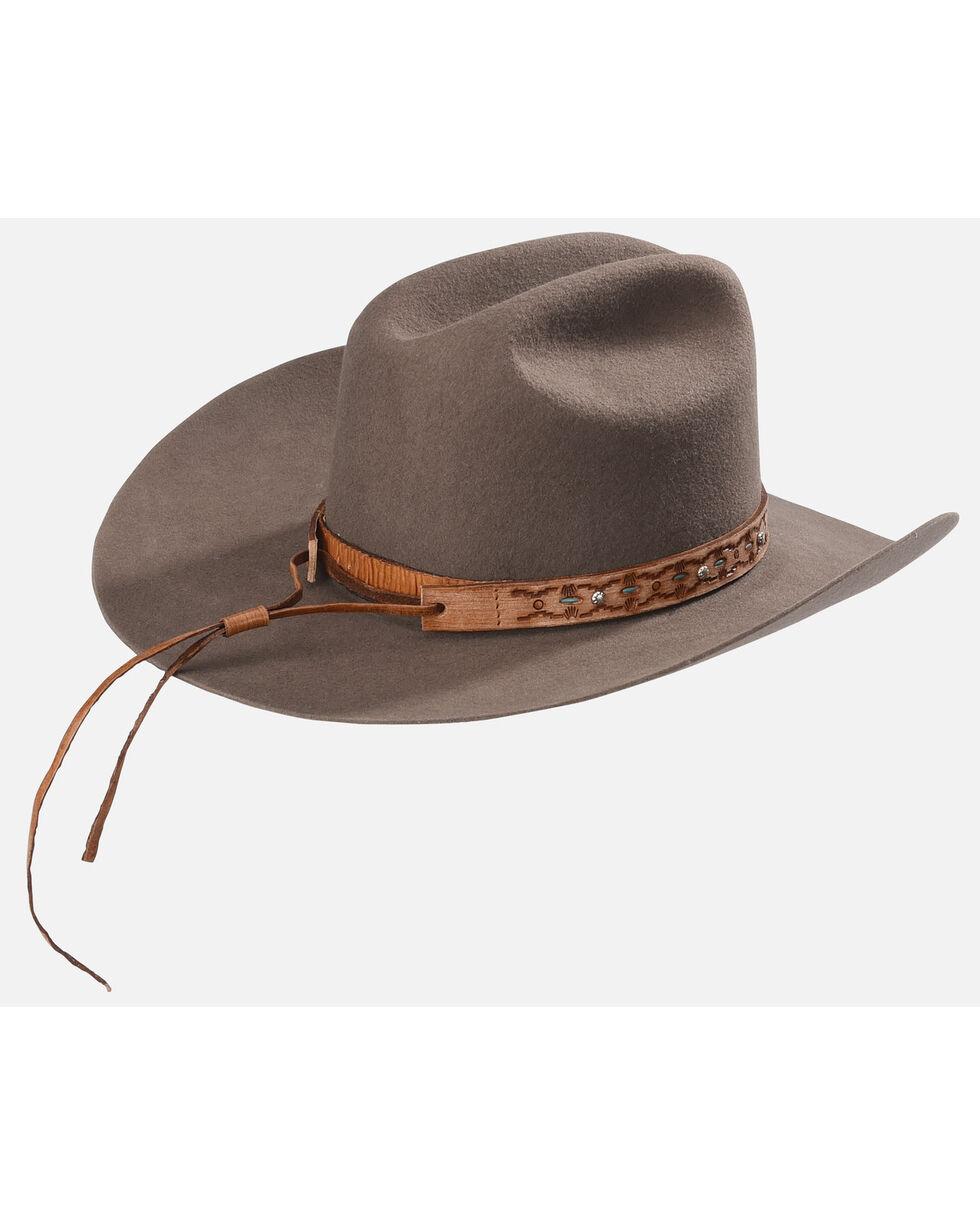 Phunky Horse Adjustable Leather Hat Bad , Lt Brown, hi-res