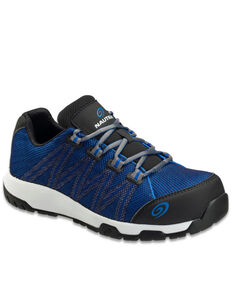 Nautilus Men's Blue Accelerator Work Shoes - Composite Toe, Blue, hi-res