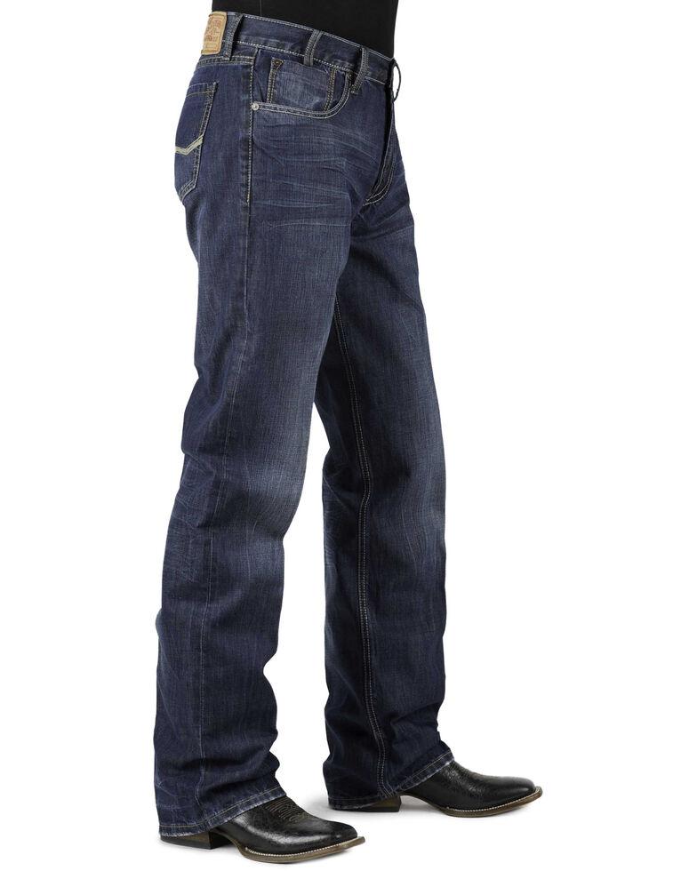 Stetson Modern Fit Bold Stitched Jeans - Tall, Denim, hi-res