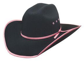 Bullhide Leave Your Mark Colorful Brim Kids Cowboy Hat 6944234b8ec4