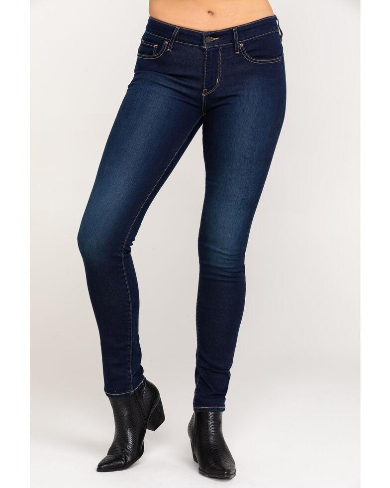Levi's Women's 711 Indigo Ridge Skinny Jeans  , Indigo, hi-res