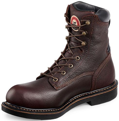 Red Wing Irish Setter Farmington Work Boots - Aluminum Toe , Brown, hi-res