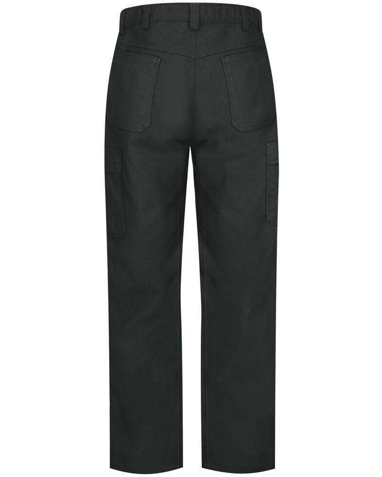 Red Kap Men's Black Performance Shop Pants , Black, hi-res