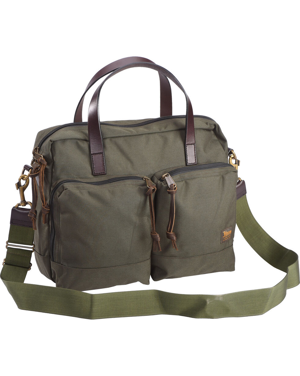 Filson Hunter Green Dryden Briefcase , Hunter Green, hi-res