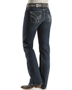 "Wrangler Jeans - Q-Baby Ultimate Riding - 32"" & 34"", Denim, hi-res"