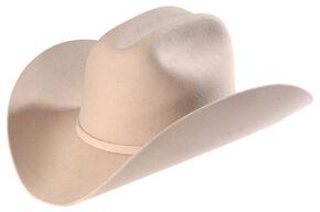 Larry Mahan 3X Los Tigres Del Norte Silverbelly Fur Felt Cowboy Hat , Silverbelly, hi-res