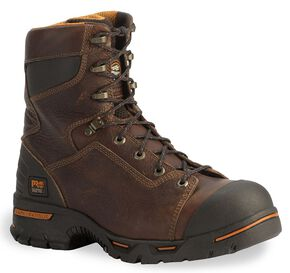 "Timberland Pro 8"" Endurance Boots - Steel Toe, Briar, hi-res"