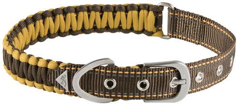 "Browning Brown Survival Cord Collar - Medium 14 - 20"", Brown, hi-res"