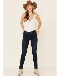 Levi's Women's Dark Wash 721 High Rise Skinny Jeans , Blue, hi-res
