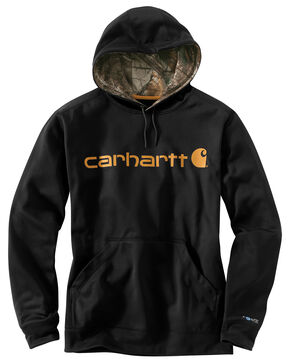 Carhartt Extremes® Force Signature Graphic Hooded Sweatshirt, Black, hi-res