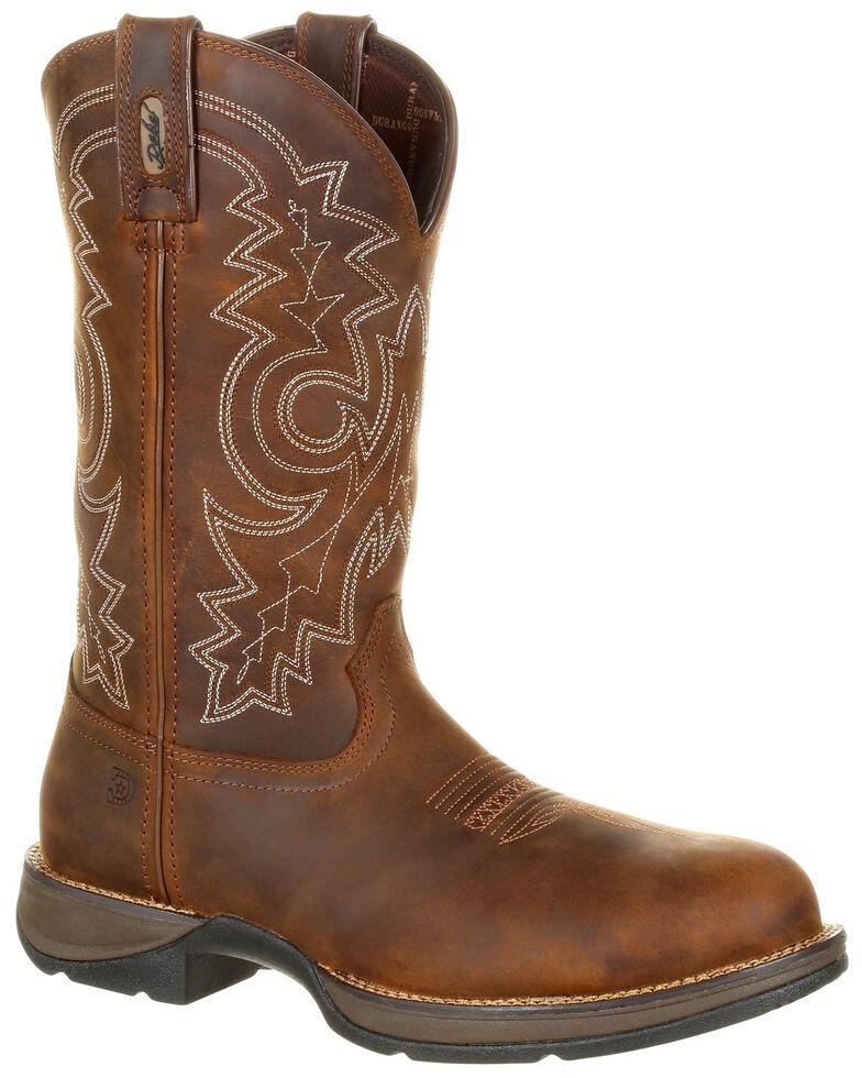 688621d280a Durango Men's Rebel Waterproof Western Work Boots - Steel Toe