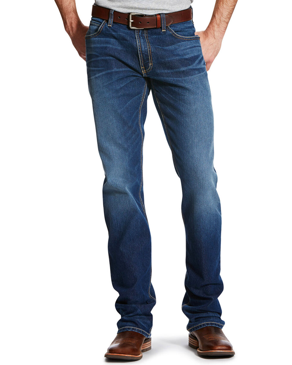 Ariat Men's Relentless Relaxed Fit Highway Jeans , Blue, hi-res