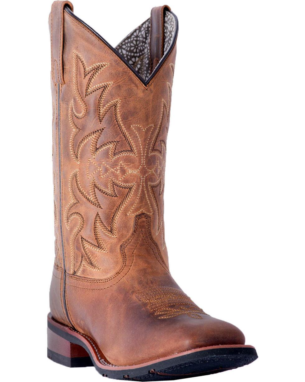 Laredo Women's Anita Tan Cowgirl Boots - Square Toe, , hi-res