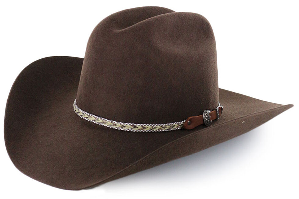 30aab1f78 Cody James Men's Ramrod Pro Rodeo 3X Wool Felt Cowboy Hat