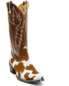 Idyllwind Women's Crazy Heifer Western Boots - Snip Toe, Brown, hi-res