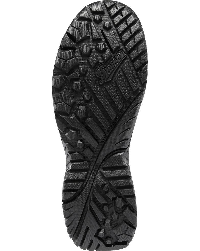 "Danner Men's Black Scorch Side-Zip 6"" Tactical Boots - Round Toe , Black, hi-res"