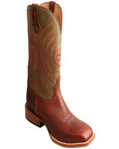 Twisted X Men's Brown HOOey Western Boots, Brown, hi-res