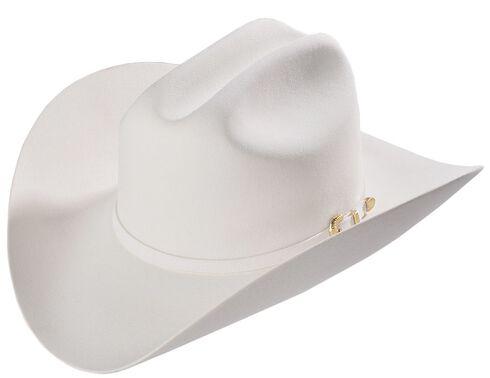 Larry Mahan White Reno 6X Fur Felt Cowboy Hat, White, hi-res