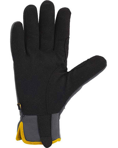 Carhartt Men's Grey Work Flex Gloves, Grey, hi-res